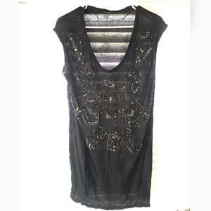 All Saints Aritza Beaded Tunic Top 8